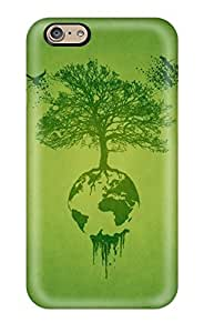 Iphone 4s Case Cover Skin : Premium High Quality Green Earth Case