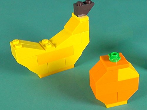Fruits Building Instructions with LEGO Classic 10705