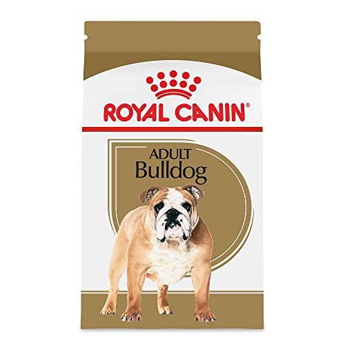 Royal Canin Breed Health Nutrition Bulldog Adult Dry Dog Food, 30-Pound