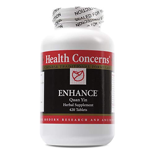 Health Concerns – Enhance – Quan Yin Herbal Supplement – 420 Tablets Review