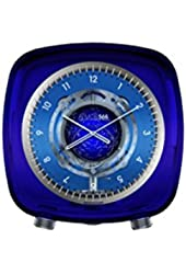 Jaeger LeCoultre Atmos 566 by Marc Newson Baccarat Crystal Blue Dial Crystal Box Q5165103