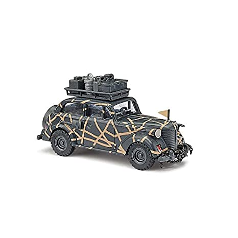 Amazon Com Busch 41103 Opel Olympia Infantrie Ho Scale Vehicle