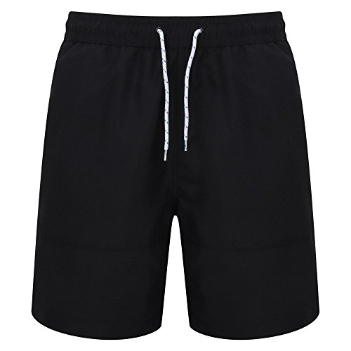Front Row Mens Board Shorts (L) (Navy/Navy) ()