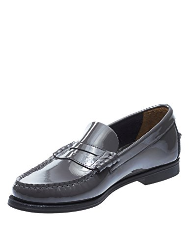 Plaza Women's Loafers Sebago Dk Grey Patent Leather Ii Patent 15WnpXnqU