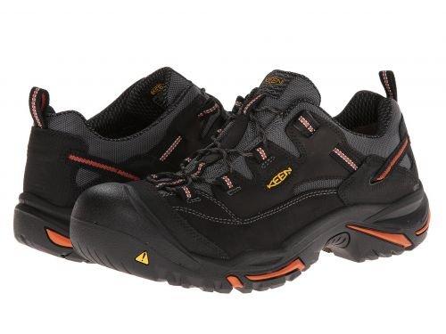 Keen Utility(キーン) メンズ 男性用 シューズ 靴 スニーカー 運動靴 Braddock Low - Black/Bossa Nova [並行輸入品] B07C8GX74Q