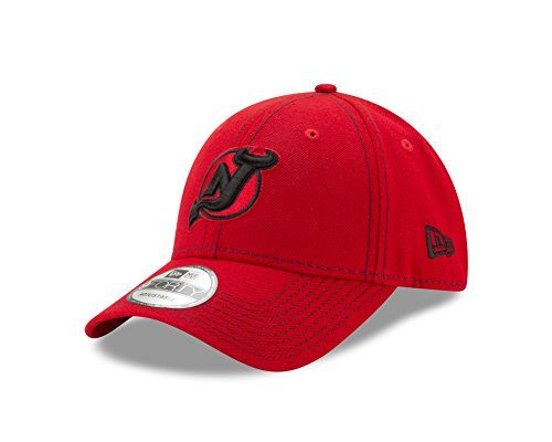 Classic Jersey Cap (NHL New Jersey Devils Adult The League Classic 9FORTY Cap, One Size, Red)