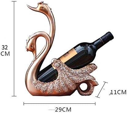 F2 Creatieve rode wijn, champagnekleur, woonkamer, Europese eenvoudige wijnfleshouder, decoratie, tafel, wijnkast, decoratie