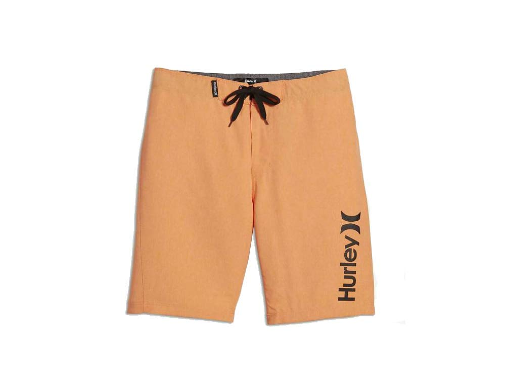 Hurley Big Boys' One & Only Boardshort, Bright Citrus Heather one/Only, 14
