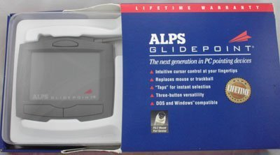 Trackball Devices Pointing (ALPS Glidepoint -- PC Pointing Device)