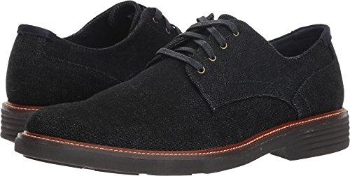 Dark Denim Footwear (Dockers Men's Parkway 360 Plain Toe Oxford Dark Blue Stretch Denim 9 D US)