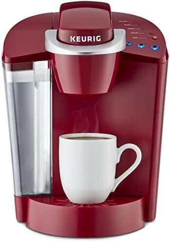 Keurig K55 Single Serve Programmable K-Cup Pod Coffee Maker, Rhubarb