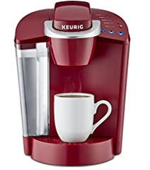 The classic Keurig K-Cup single serve Coffee maker, and a perennial best-seller, the Keurig k-classic brews a rich, smooth, and delicious cup every time with the quality you expect from Keurig. Simple touch buttons make your brewing experienc...