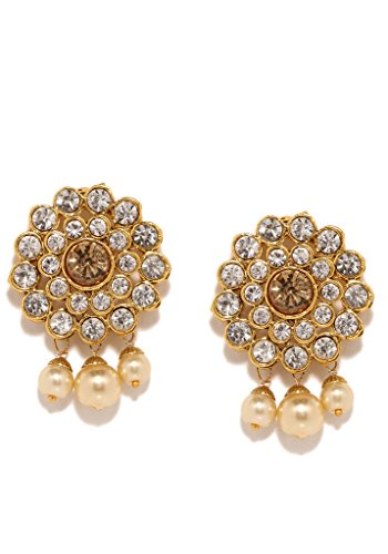 Costume Jewellery Jewellery & Watches Constructive Indian Bollywood Ethnic Green Matte Gold Pearl Jhumka Earring Fashion Jewelry Online Shop