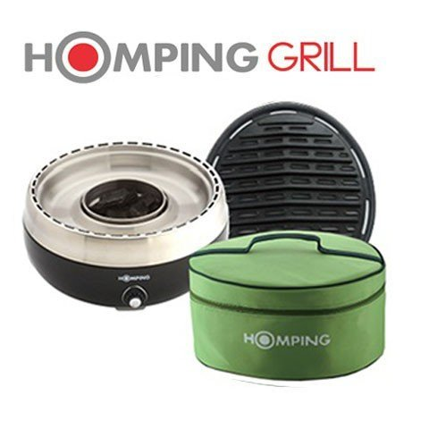 Homping grill ultimate portable charcoal bbq grill for Motorized outside air damper