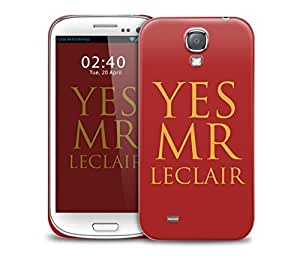 yes mr leclair selfridge Samsung Galaxy S4 GS4 protective phone case