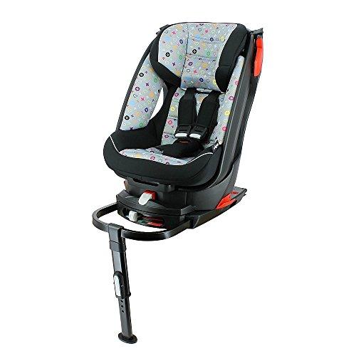migo swivel isofix base car seat for kids 9 to 18 kg. Black Bedroom Furniture Sets. Home Design Ideas