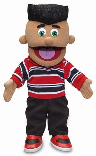 14'' Jose, Hispanic Boy, Hand Puppet by Silly Puppets