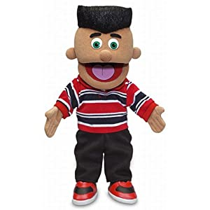 "14"" jose, hispanic boy, hand puppet - 41a 9mDzo0L - 14″ Jose, Hispanic Boy, Hand Puppet"