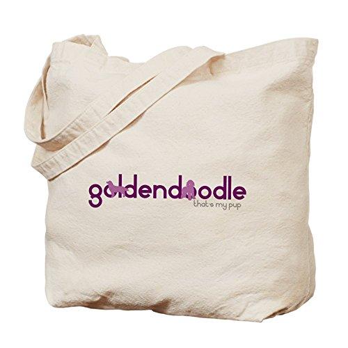 Cafepress–Goldendoodle–Borsa di tela naturale, tessuto in iuta