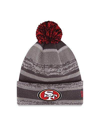 NFL San Francisco 49ers 14 Graphite/Team Color Sports Knit Hat (49ers San Mens Coaches Francisco)