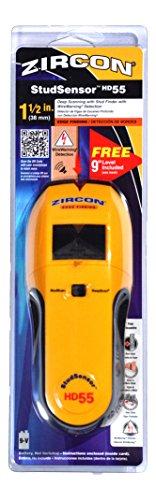 Zircon International Stud Finders HD55 Stud Sensor With B...