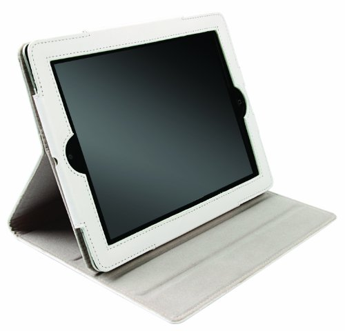 Krusell Luna Tablet Case for Apple iPad 2 and 3 New iPad (White)