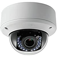 SPT Security Systems 11-2CE56D5T-AVFIR HD 1080p Turbo HD Indoor 2.8mm to 12mm Lens IR Camera, Dual Voltage (White)