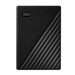 WD 4TB My Passport Portable External Hard Drive HDD, USB 2.0 Compatible, Black – WDBPKJ0040BBK-WESN