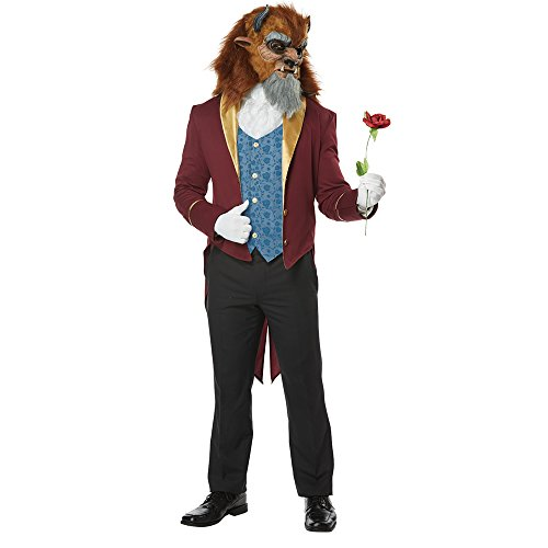 Creative Halloween Costumes Adults (Mens Storybook Beast Disney Prince Costume size Small)