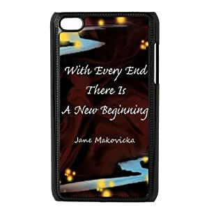 every end is a new beginning Cheap Cover Case for iPod Touch 4,diy every end is a new beginning Cell Phone Case