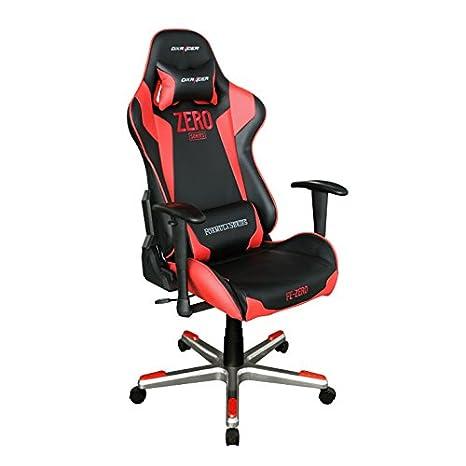DXRacer FE00/Zero Racing Cubo asiento silla de oficina ergonómico Gaming, con apoyo lumbar: Amazon.es: Juguetes y juegos