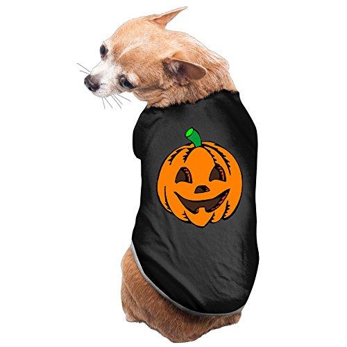 Halloween Pumpkin Dog Hoodies Charming Cozy ()