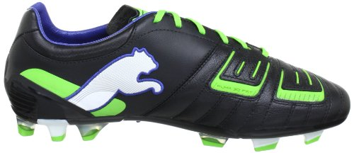 Puma - Botas de fútbol para hombre Schwarz (black-jasmine green-monac 01) (Schwarz (black-jasmine green-monac 01))