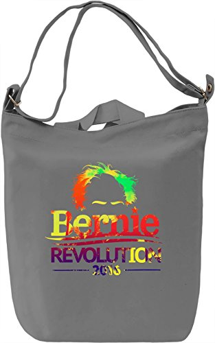 Political Revolution Borsa Giornaliera Canvas Canvas Day Bag| 100% Premium Cotton Canvas| DTG Printing|