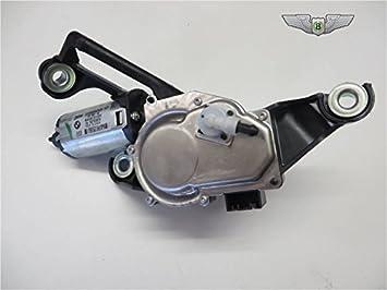 BMW Serie 1E81, E87, nuevo conjunto de motor de limpiaparabrisas trasero para 67637199569: Amazon.es: Coche y moto