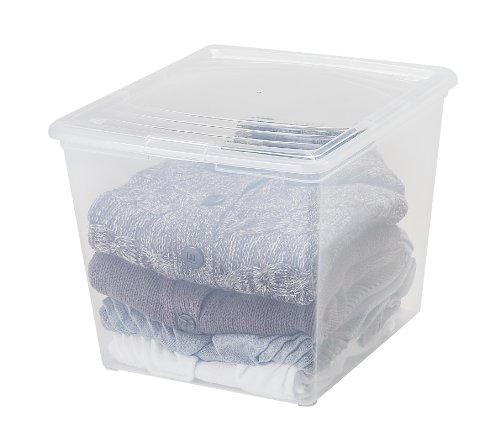IRIS Quart Sweater Storage Clear