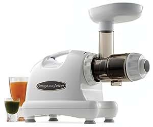 Omega J8004 centro de nutrición, extractor de jugos, blanco