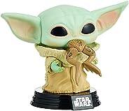 Boneco Star Wars Mandalorian The Child Baby Yoda With Frog Pop Funko 379 - SUIKA