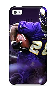 Cassandra Craine's Shop Best Defender Case With Nice Appearance (adrian Peterson Football) For Iphone 5c 9983314K69000668