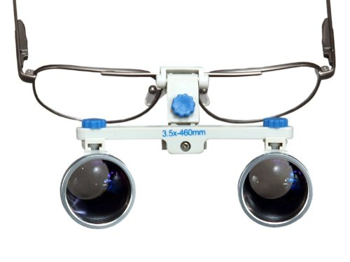Dental Surgical Loupes, 3.5x, 460mm working distance, Alloy Frame (Best Veterinary Orthopedic Surgeon)