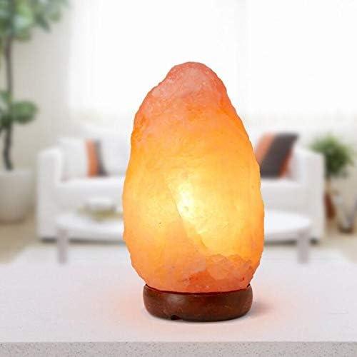 N\A ZGGYA Lámpara De Mesa 2-3 KG Salt Lamp Natural Sal De Roca del Himalaya Lamp Cristales Relax Aromaterapia (1-2 X Pack UK On/Off)