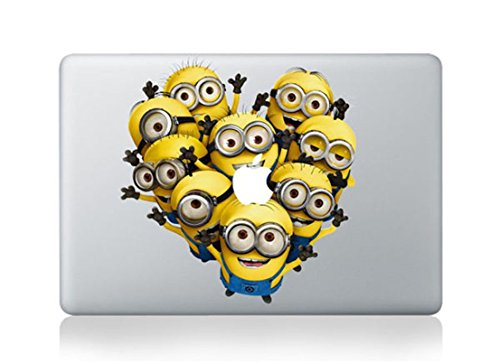 Great Popular Minions Apple Macbook Laptop Stickers Skin Decal Vinyl For Mac Pro Air - Shop Downtown Ireland Disney For