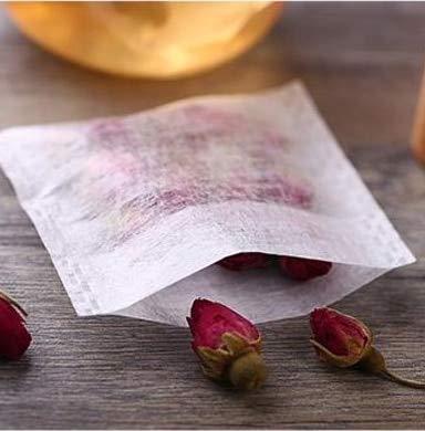 (ShoppyStar Environmental Natural Corn Fiber Folding Tea Bag PLA Biodegraded Tea Filters Herbal Tea filter bags 100pcs/lot: 70x100mm)
