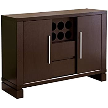 ioHOMES Studio Buffet with Wine Holder, Cappuccino