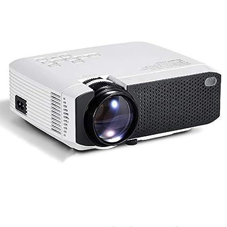 El Mejor Mini proyector de Cine en casa con proyector HD LED del ...