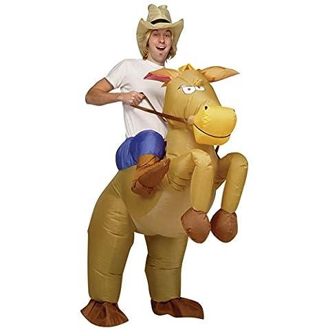 Ride Em Cowboy Inflatable Costume Adult Standard