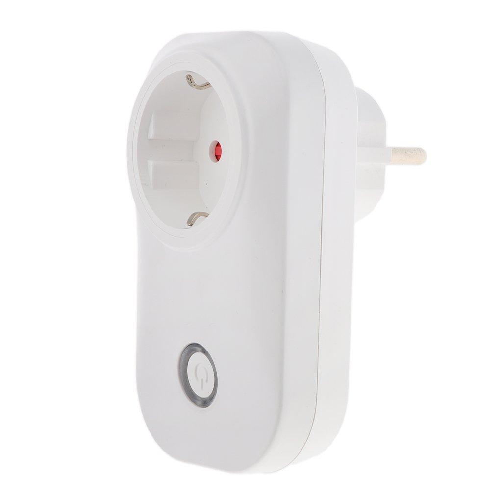 Gazechimp 3G / 4G / WiFi Enchufe Inalámbricos Inteligente Control Remoto para Luces y Domótica Color Blanco - EU: Amazon.es: Bricolaje y herramientas