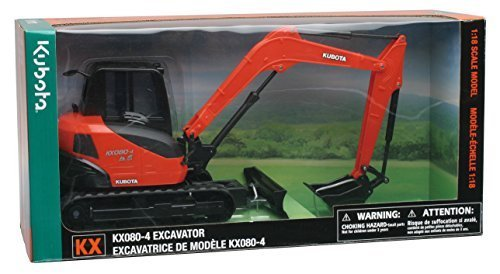 Kubota KX080-4 Excavator 1:18 Scale by Newray