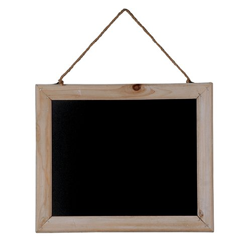 Herstera Garden 14401043-Slate Table, 43x 36cm, Natural Colour