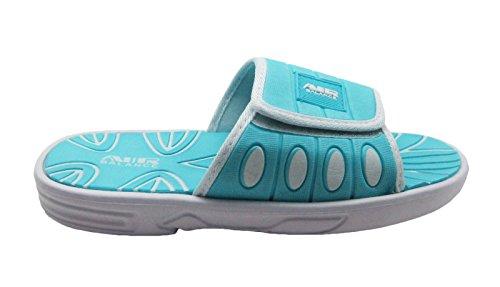 Ciabatte Da Sandalo Da Spiaggia Per Donna, Carine E Comode, Con Cinturino Regolabile Spesso In Colori Pastello Blu